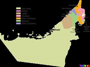 UAEStatesMap