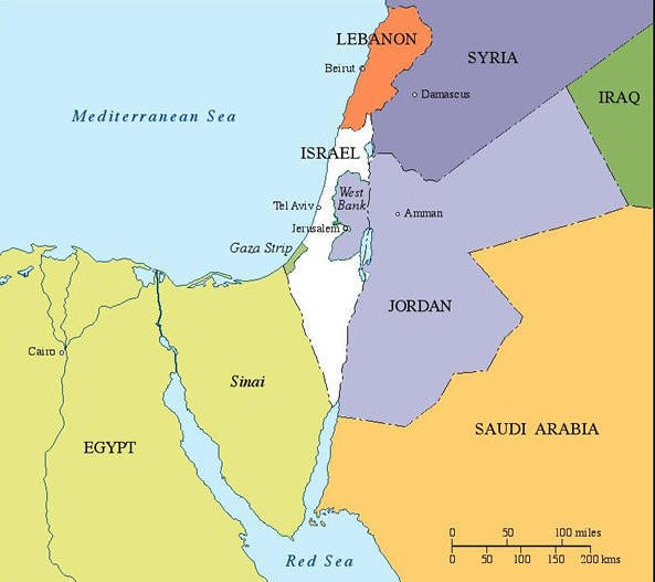 Israel-and-her-neighbors-2014
