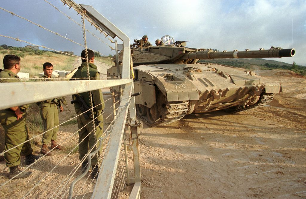 Israel Withdraws from Lebanon