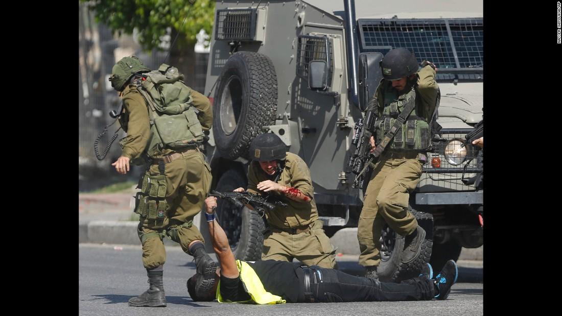 Violence in Ramallah