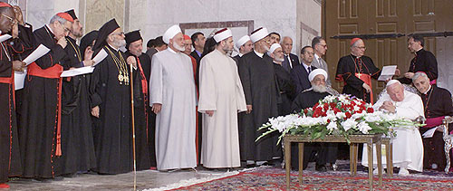 The Pope Visits Syria