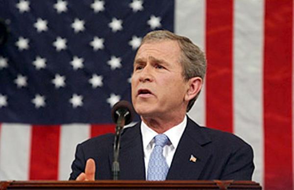 "Bush Identifies ""Axis of Evil"""