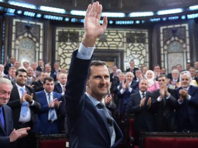 Al-Assad Vows to Reclaim Syria