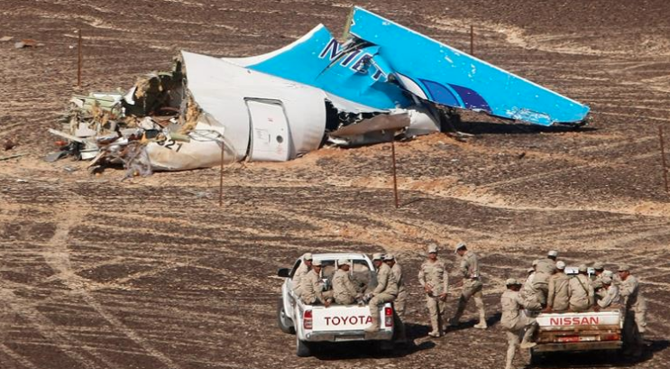 IS Bombs Russian Plane