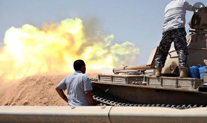 Libyan Civil War Breaks Out