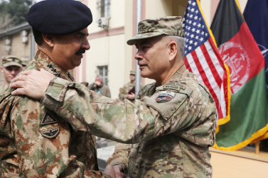 Afghan Army Takes Command from NATO