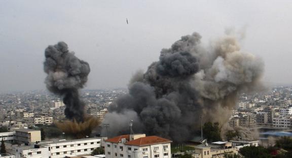 Israel Attacks Gaza