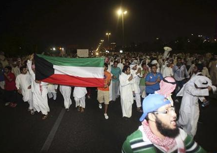 Mass Protest in Kuwait