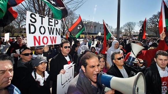 Protests in Libya Turn Violent