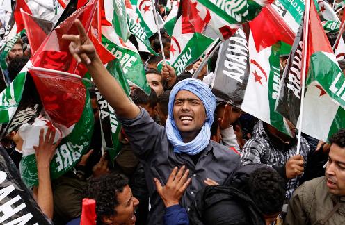 Western Sahara Protests