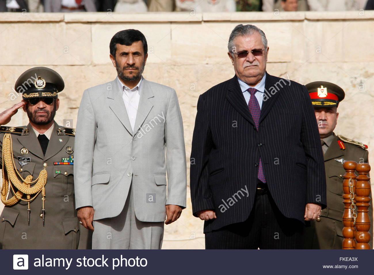 Ahmadinejad Visits Iraq