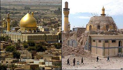 Iraqi Shia Shrine Bombed