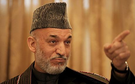 Hamid Karzai Elected
