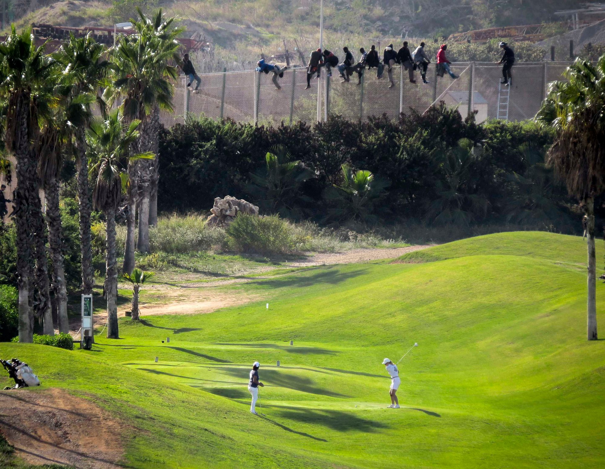 Spain Visits its Enclaves