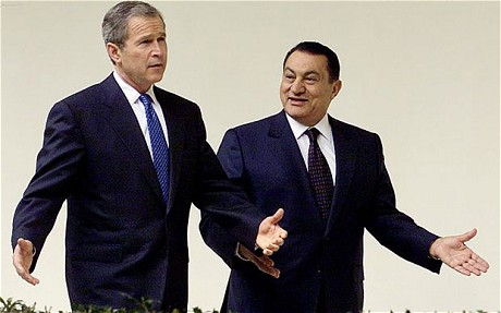 Bush and Mubarak Agree on Peace