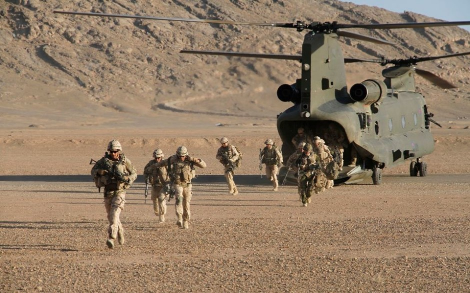 NATO Deploys in Afghanistan