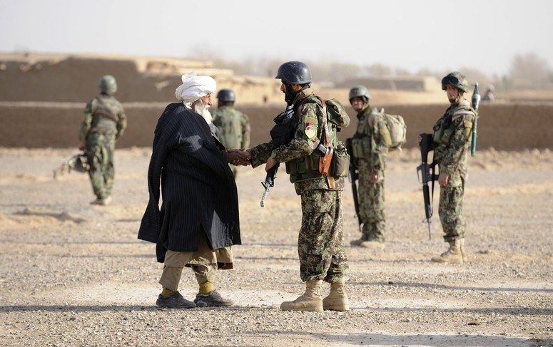 NATO Leads in Afghanistan