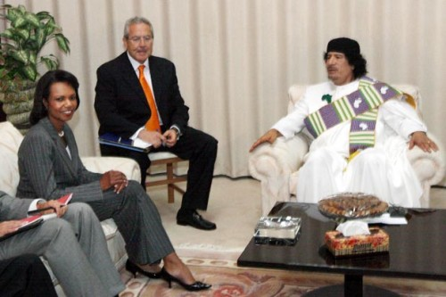 Libya and U.S. Mend Relationship
