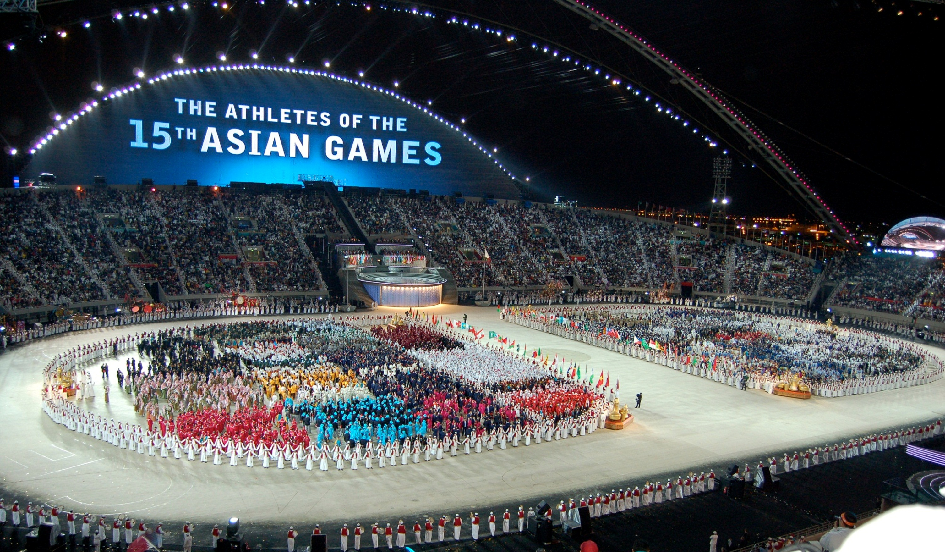 Qatar Hosts Asian Olympic Games