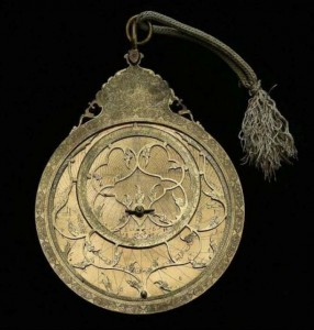 Prototype of an Islamic astrolabe.