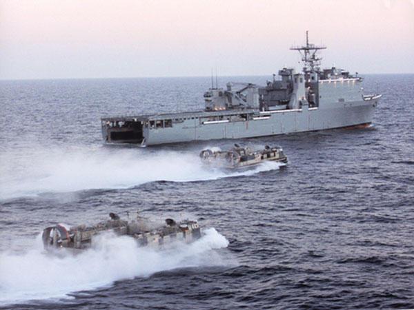 Attack on USS Ashland
