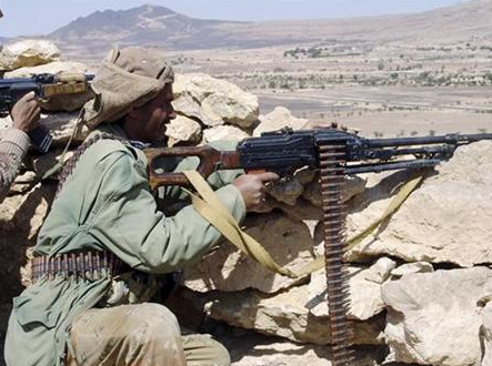 Yemeni Army Fights Separatists