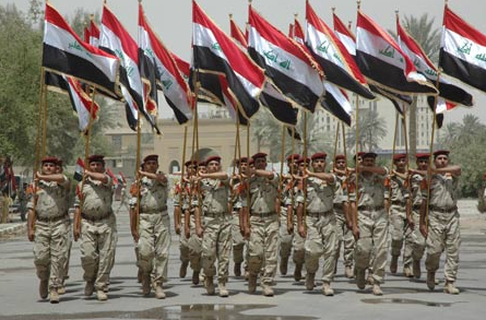Security Forces Withdraw from Iraq