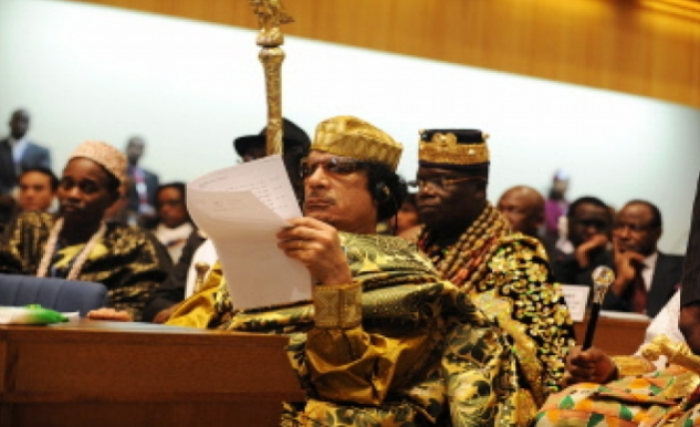 Gaddafi Elected Chairman of African Union