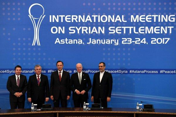 Iran, Russia, and Turkey agree to enforce Syria ceasefire
