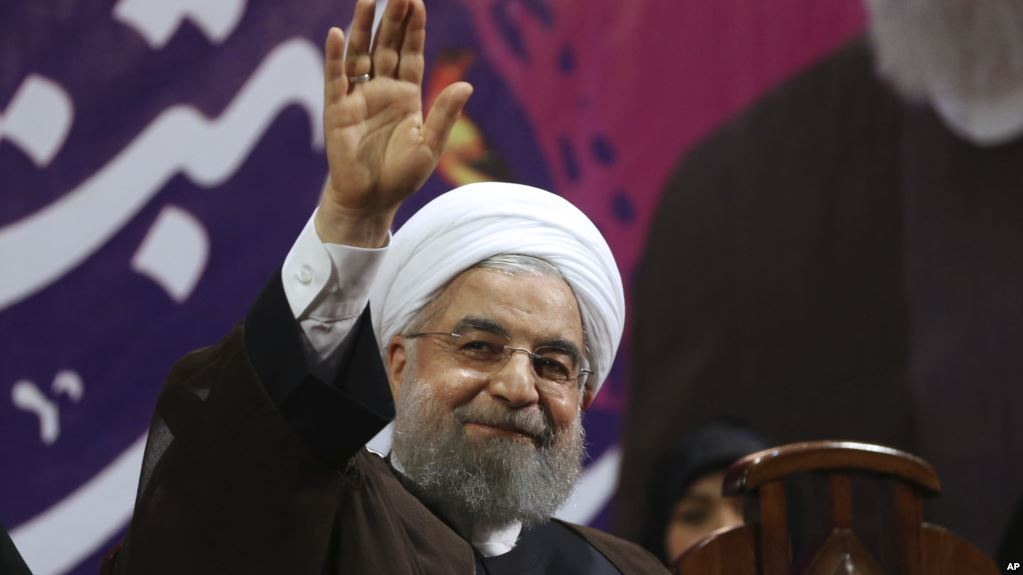 Rouhani re-elected