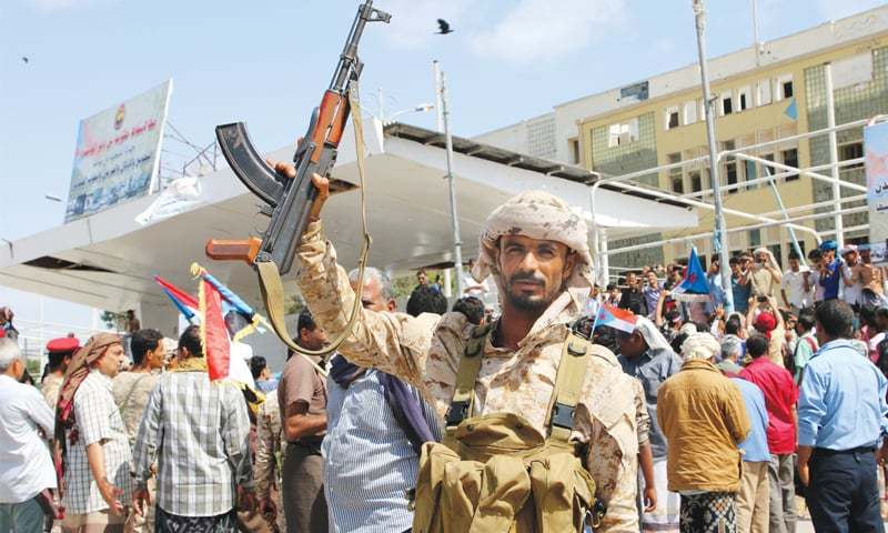 UAE-backed separatists take control of Aden
