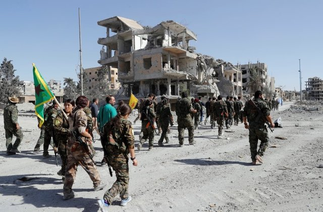 Islamic State driven out of Raqqa