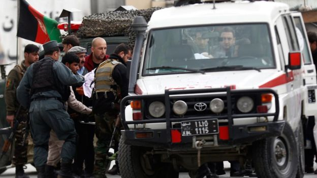 More than 30 people killed in Islamic State attack in Kabul