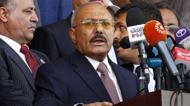 Ali Abdullah Saleh killed in Sanaa