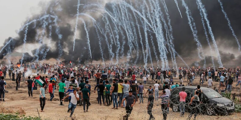 U.S. embassy move triggers deadly protests in Gaza