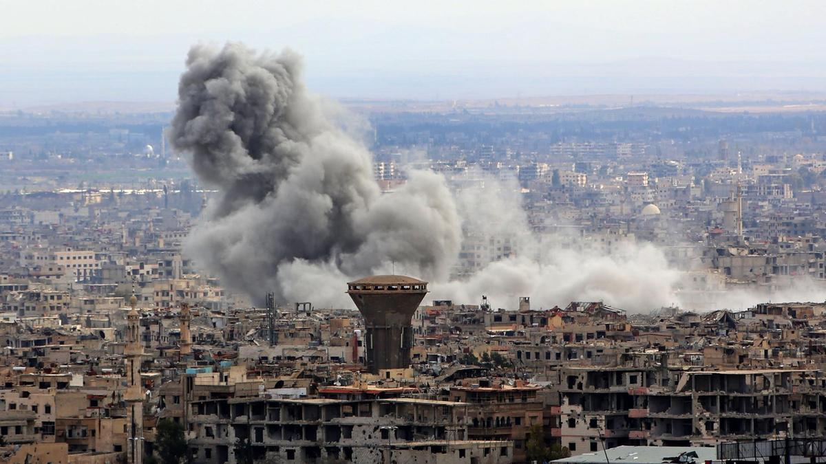 Government-led attack on Eastern Ghouta