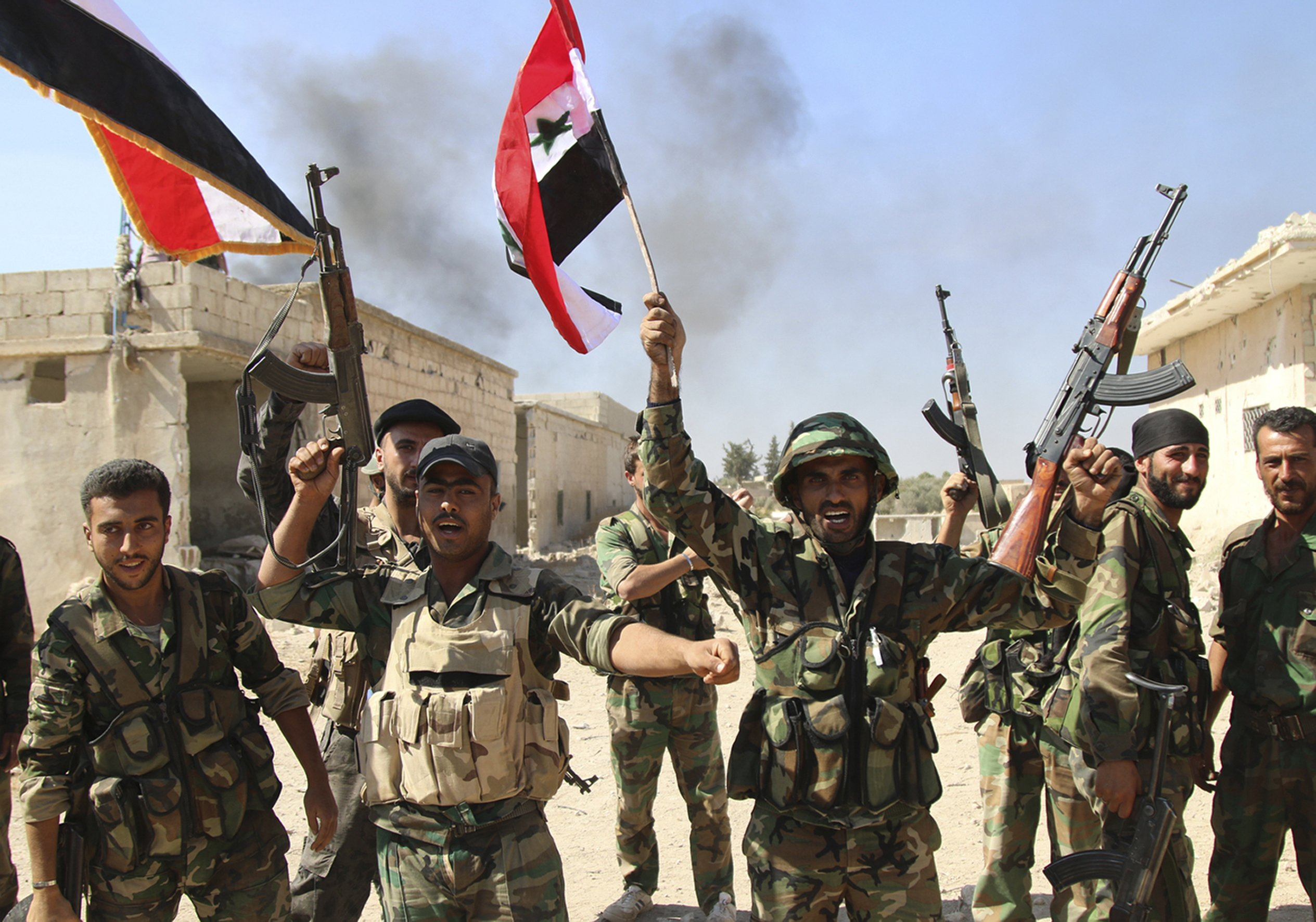 Syrian army claims victory in Deir al-Zour over Islamic State