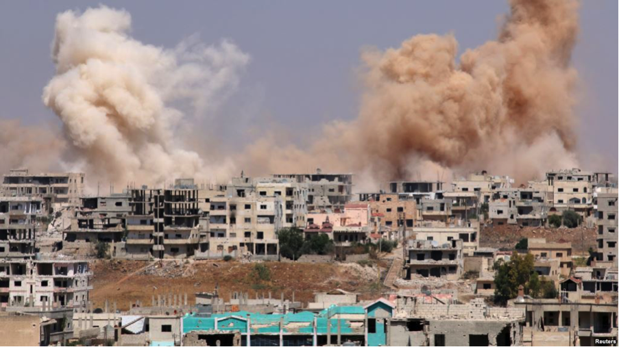 Ceasefire agreement in Syria