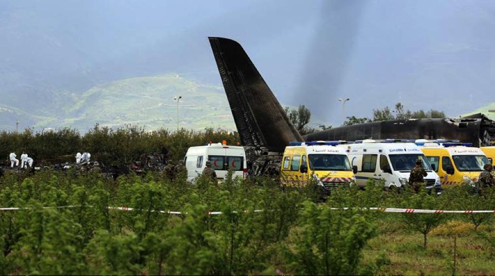 Algeria's deadliest plane crash killed 357