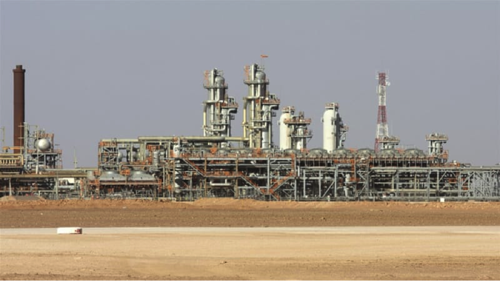 Gas plant hit by rocket attack