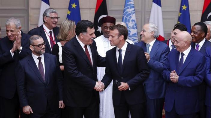 France hosts summit with Libya