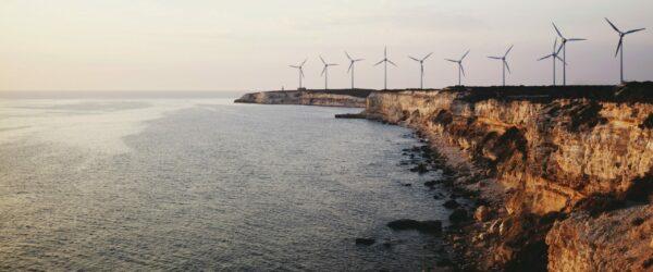 Windmills on the Turkish island of Bozcaada