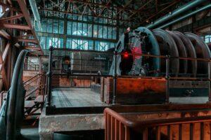 Historic energy plant in Turkey